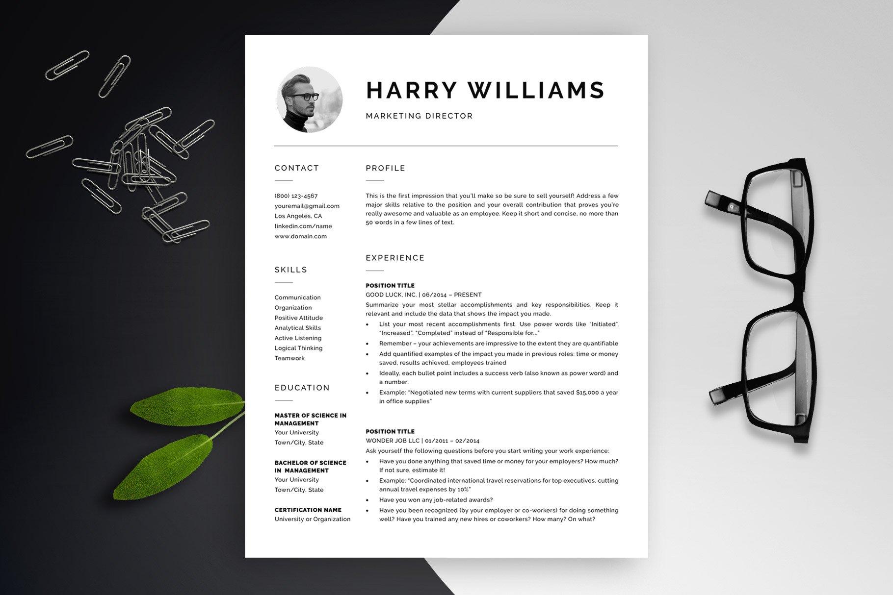 Modern Resume Template \
