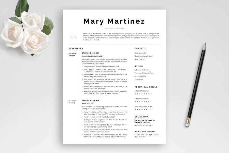 Resume Templates Designed to Get You Hired | TemplateHippo