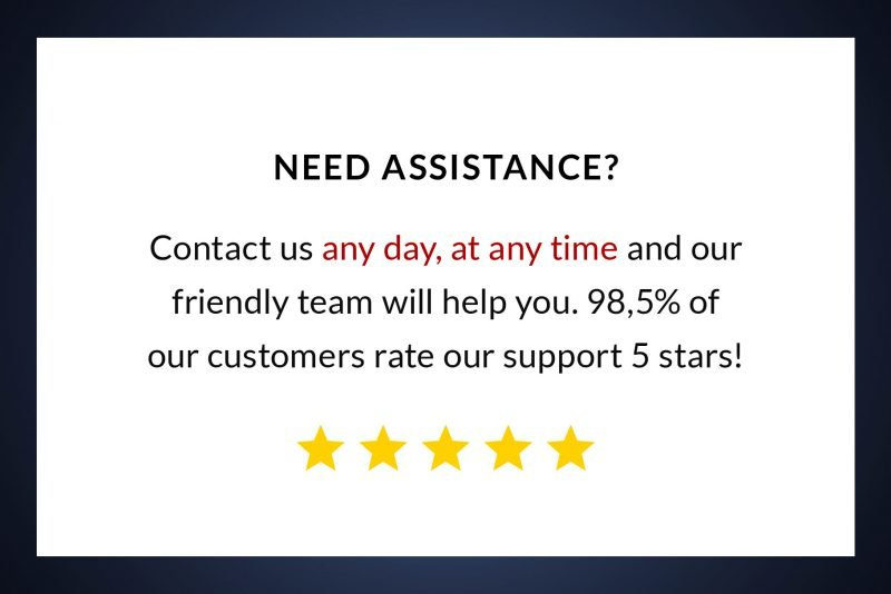Outstanding customer service by TemplateHippo