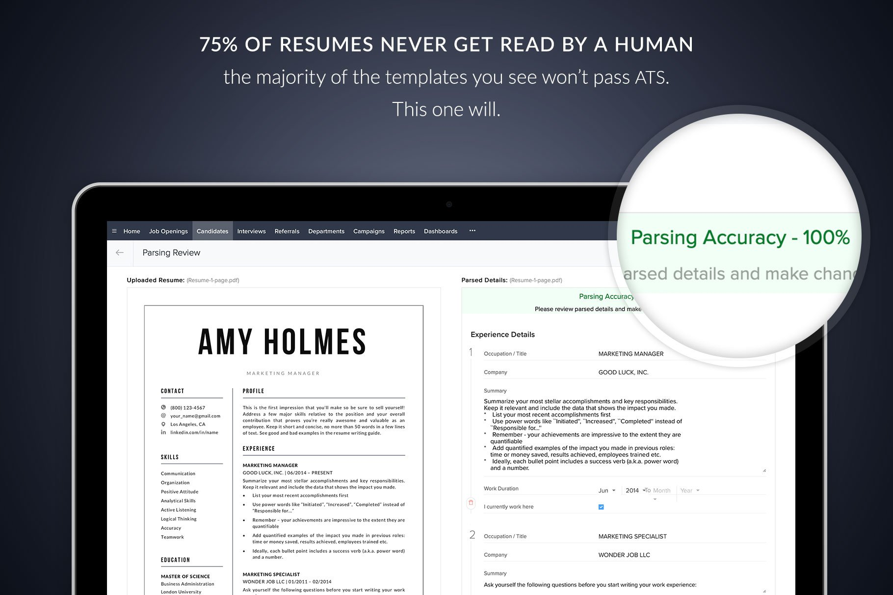 resume templates amy modern 1 2 and 3 page resume. Black Bedroom Furniture Sets. Home Design Ideas