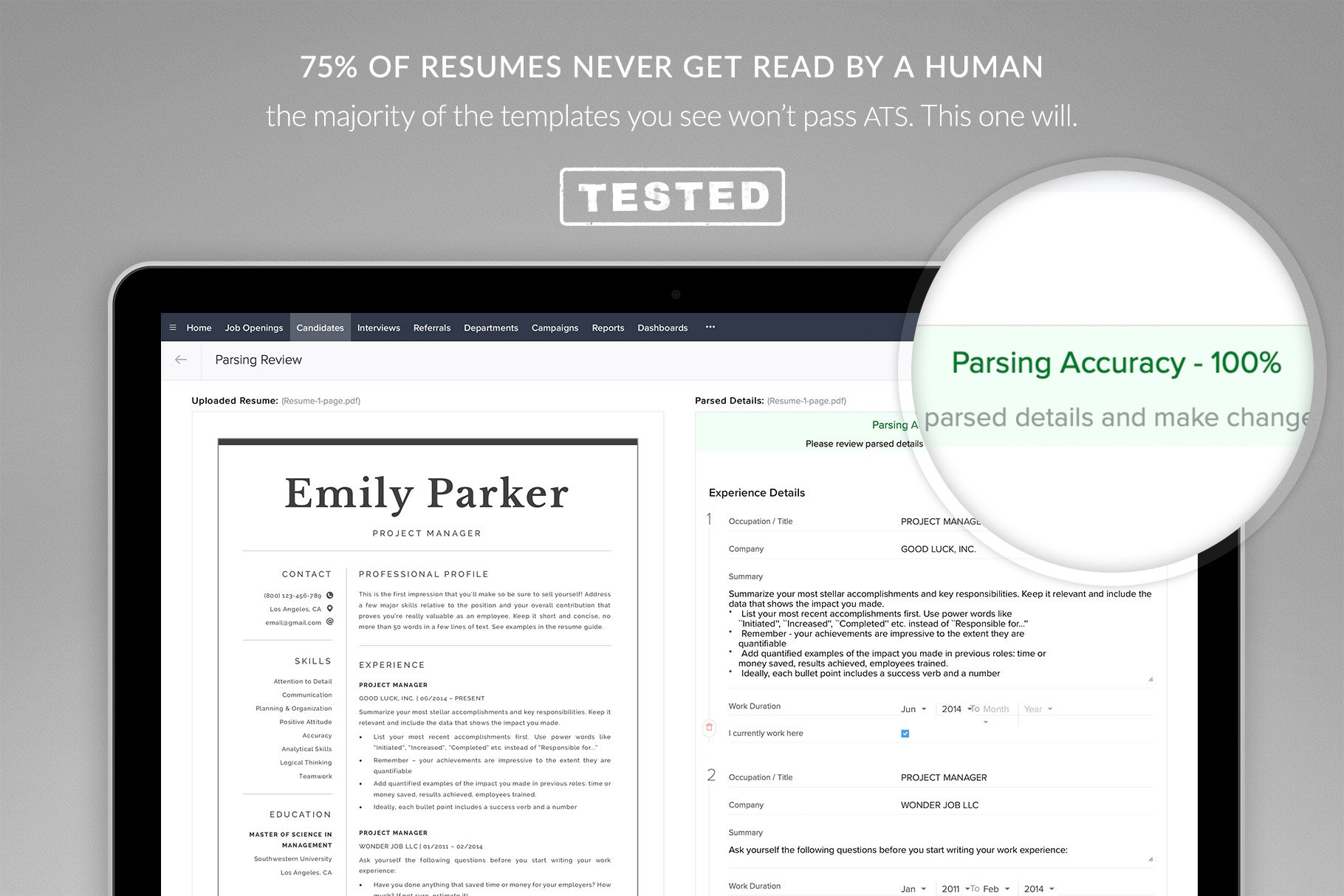 resume template and cover letter template  u0026quot emily u0026quot
