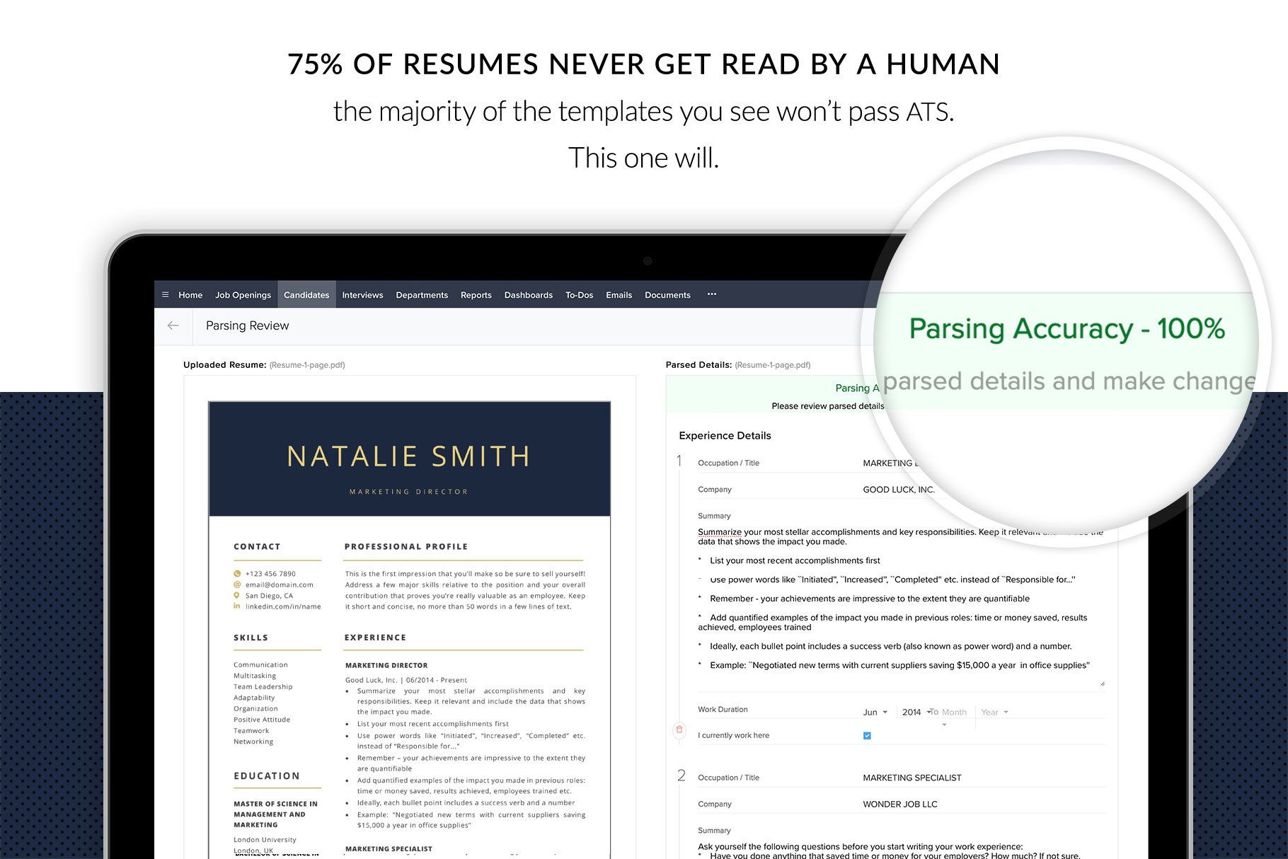resume template package  u0026quot natalie u0026quot