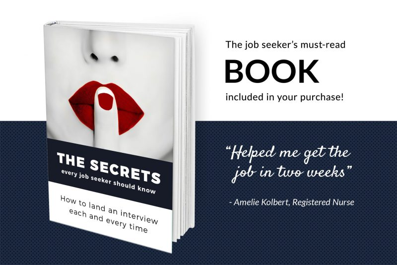Free e-book - resume writing guide included