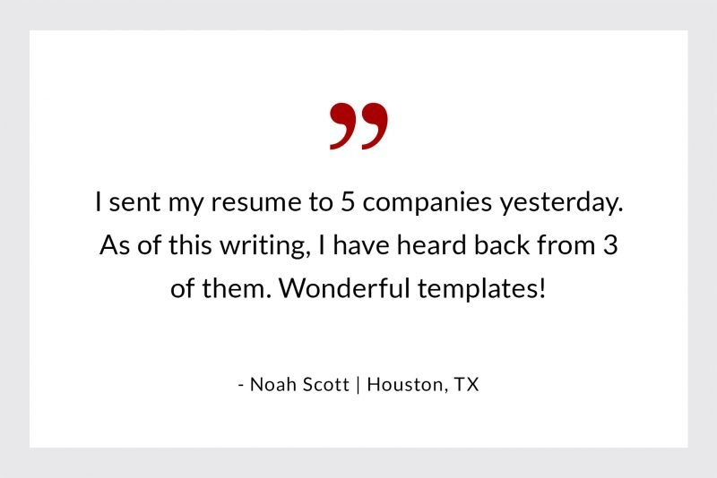 Noah Scott from Houston - success story