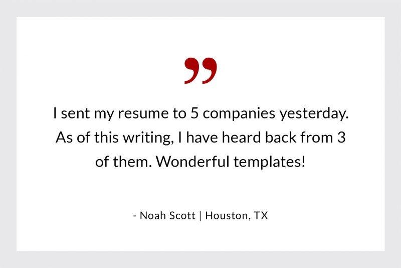 Noah Scott from Houston - success story