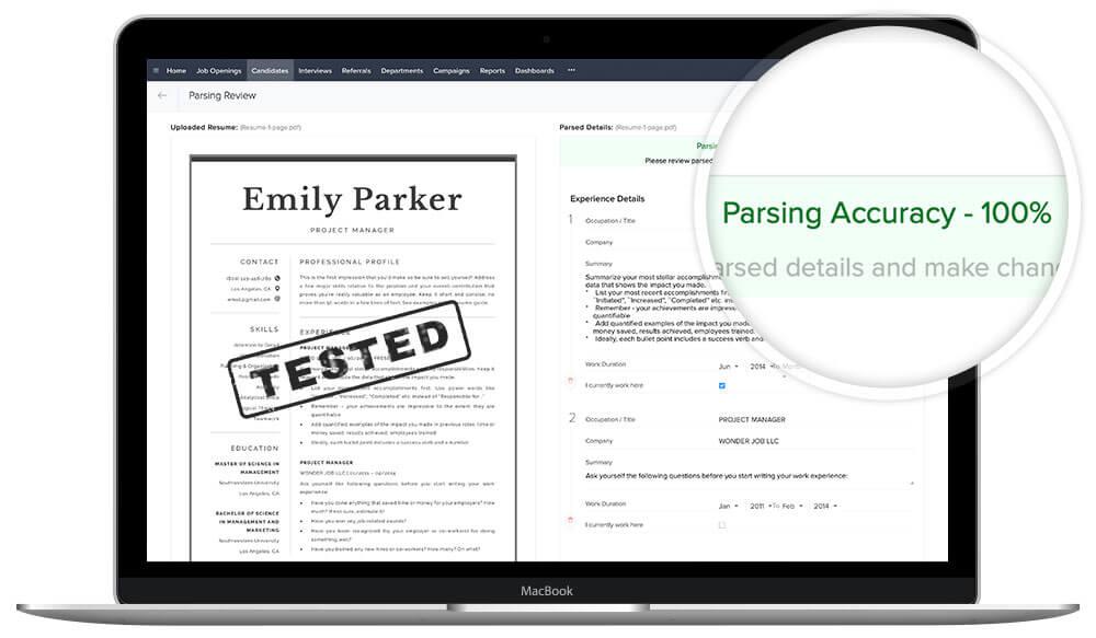 ATS-compatible resume templates