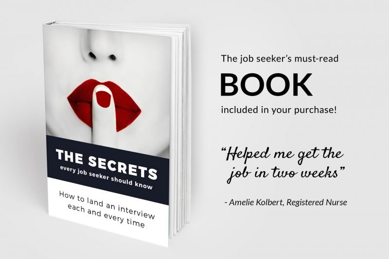 The job seekers must read book included in your purchase