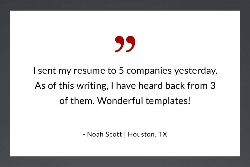 Resume review - wonderful templates by N. Scott, Houston