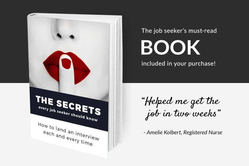 """The secrets every job-seeker should know"" free resume guide"